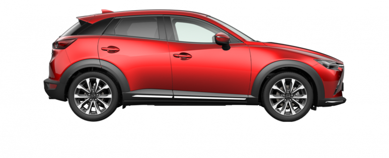 Mazda CX-3 Luxury automaat red